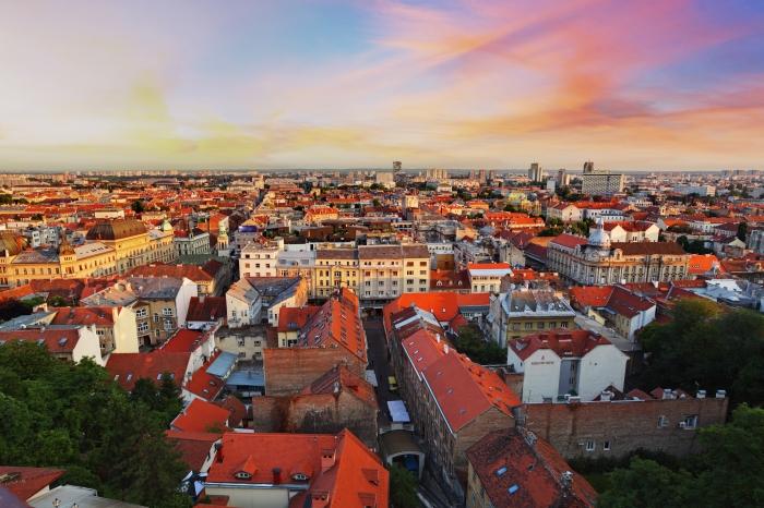 Zagreb cityspace
