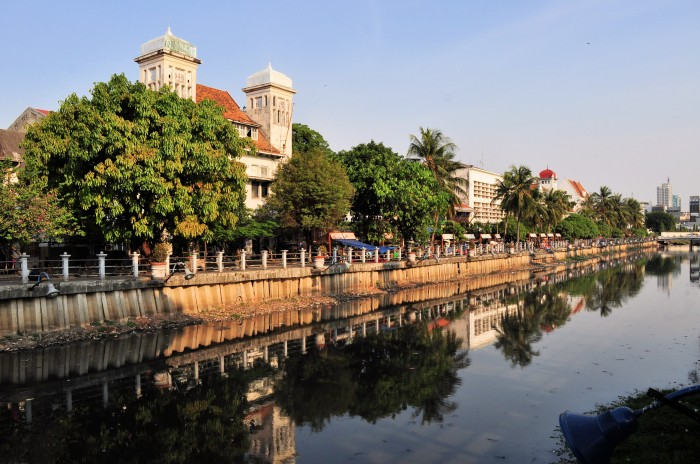 Dutch colonial architecture in Kota, Jakarta, Indonesia